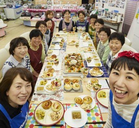 料理教室集合写真